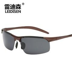 Polarized Men Sunglasses Rimless Driving Mirrored Sun Glasses Male Outdoor Drivers Glasses UV400