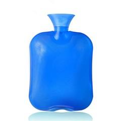 water bag bottle transparent 2000ml hot water bottle high density PVC explosion-proof Hand Warmer