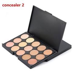 Natural Professional Concealer Palette 15 Colors Makeup Foundation Facial Face Cream Palettes Cos