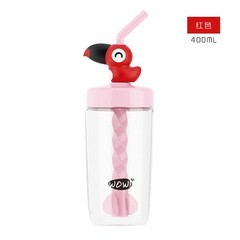 Straw Sports Bottle For Water BPA Free Plastic Water Bottle My Water Bottles Drinkware Childrens