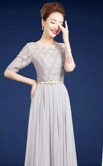 Modest Floor Length Formal Dresses