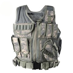 Unloading Tactical Men Combat Vest Tactical Army Military Fans Camouflage Vest Body Cs Jungle Equ
