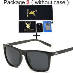magnesium TR90 HD Polarized Sunglasses UV400 men women Driving fashion vintage new Sun Glasses Go