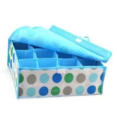 color 12cells clothing storage box with lid