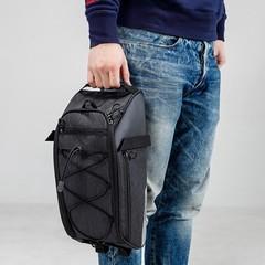 Bag 10L Bike Rear Rack Bag Bicycle Shelf Utility Multifunctional Bike Trunk Bag Bicycle Rucksack