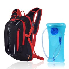 Cycling Bag with Hydration Bladder + Water Bag Climbing Camping Hiking Bicycle Bike Bag Bike Acce