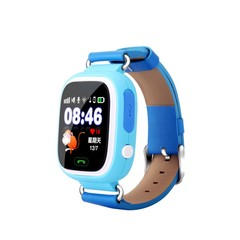 Q90 GPS Child Smart Watch Phone Children Watch 1.22inch Color Touch Screen GPS WIFI SOS Baby Smar