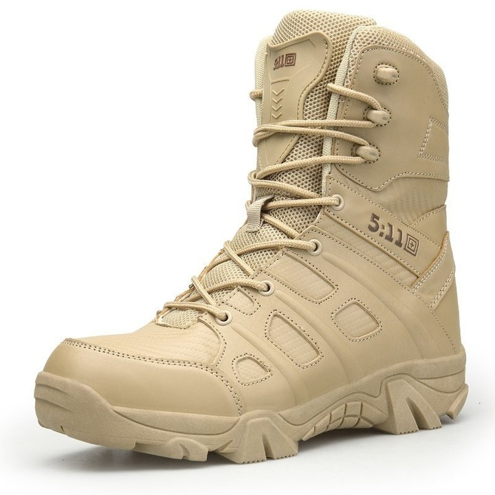 Army Work Shoes Keep Warm Snow Boots Winter Men Military Boots Quality Special Force Tactical Des