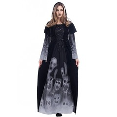 Halloween Costumes for Women Medieval Costumes Renaissance Witch Gothic Queen Vampire Fancy Dress