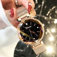 Sky Woman Watch Clock Luxury Brand 2018 Lady Wrist Watch Zegarek Damski Montre Femme Ladies Women