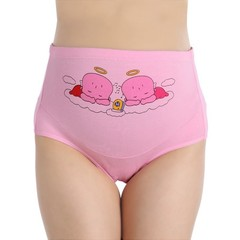 Cotton Pregnant Panties Mother Belly Support Underwear Cartoon Postpartum Briefs Pregnancy soft S