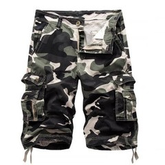 Mens Tactical Military Shorts Outdoor Male Sports Climbing Overalls Cargo Straight Loose Beach Sh