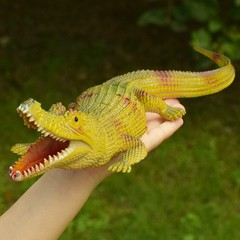 animal Simulation Marine Animal Crocodile Figurines Model Childrens Cognitive Early Learning Toys