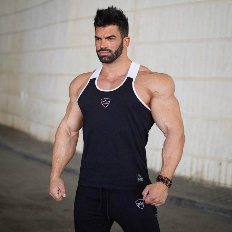 b1a818537c5b0 Clothing Bodybuilding Tank Top Men Fitness Singlet Sleeveless Shirt Cotton  Muscle Guys Brand Runn  Product No  9998967. Item specifics  Seller ...