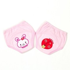 Cartoon embroidered Baby Training Cloth Diaper For 10-14Kg Cotton Baby Infant Nappy For Boys Girl
