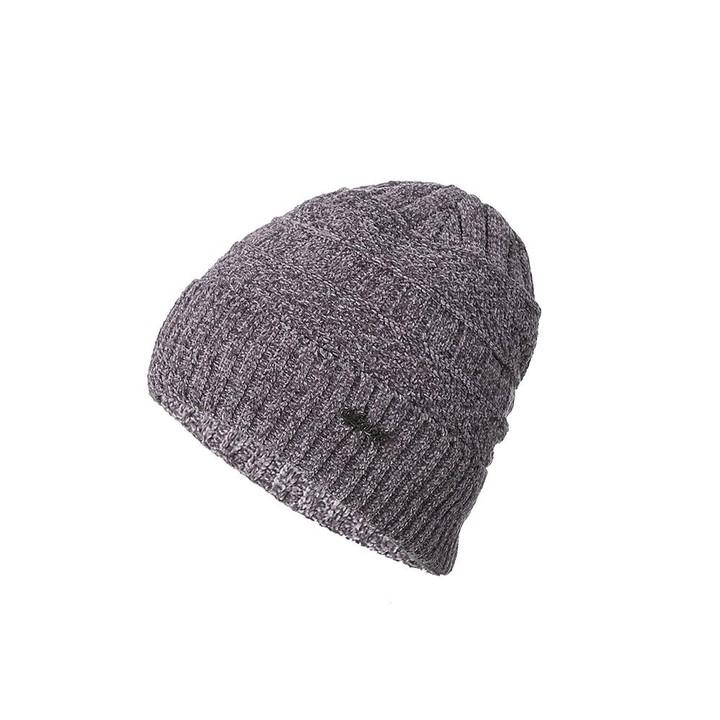 148f82e4137 ring Plus velvet Mens winter hat Skullies Beanies Chenille Double layer  Knitted Scarf Hats For Me