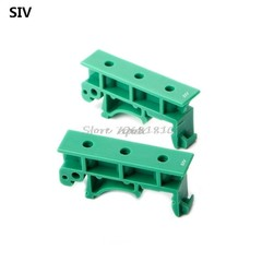 Hot Sale 1 Set of Simple PCB Circuit Board Mounting Bracket For Mounting DIN Rail Mounting 2x Ada