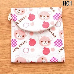 Sanitary Pads Pouch Sanitary Aunt Package Cartoon Shape Sanitary Napkin Luggage Accessories Trave