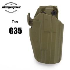 Holster Fit Glock 18C 20 21 22 37 H&ampK P30L 45 Pistol Tactical Belt Gun Holster