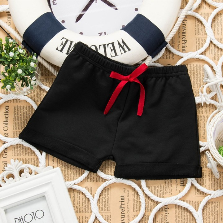09d3b6f17d boys girls summer Soft comfortable cotton shorts toddler Solid color baby  pants children clothing