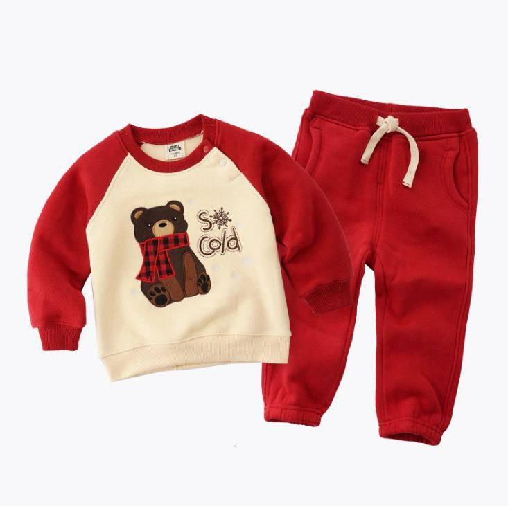 88a1a9dd6eace 2018 autumn winter children girls boys cartoon sport suit boys clothing  sets kids sweatshirt+pant