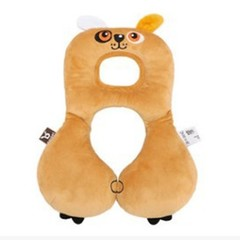 Head Protection Pillow Cute Animal U-Shape Design Travel Accessories Newborn Baby Pillow Room Dec