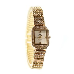 Decoration Ladies Quartz Bracelet Watch Crystal Analog Wrist Watch Relogio Feminino Shiny Women G