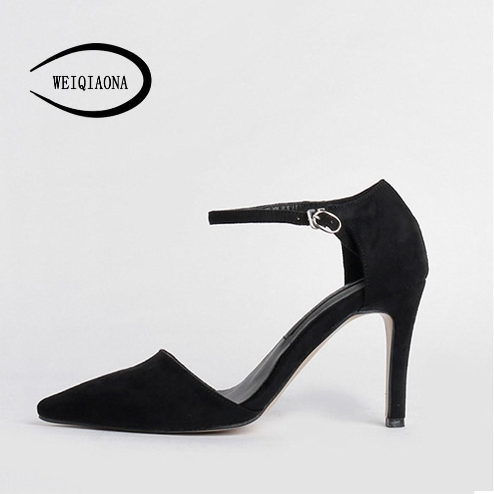 d11148e3f621 2018 New Vintage Fashion Brand Design Elegant Flock Working Shoes ...
