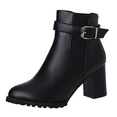 Autumn Winter Short Boots High Heel Shoes Martin Boots Ankle Boots Shoes Woman winter Lady Boots