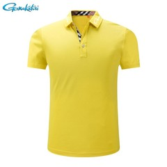 2018 Fishing Shirt Clothes Short Sleeve Cotton Polo Summer Outdoors Sunscreen Breathable Anti-UV
