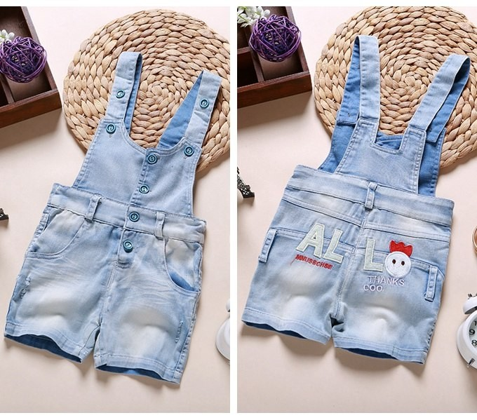 0a6ba2194 Baby Clothing Summer Overalls Babe Boys Girls Cotton Shorts Rompers ...