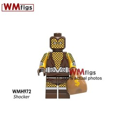 Legoingly Iron Man Spiderman Deadpool 2 Domino Cable Marvel Superheroes DC Bricks Building Blocks