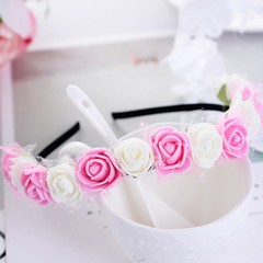 1PC Unique New Arrival High Quality Exquisite Flower Girl's Wreath Little Maid Of Honor Bride's H