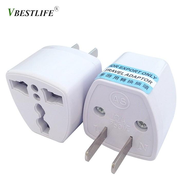 US/EU/AU/UK Standard Conversion Plug Socket All-in-one Travel AC Power Adapter Socket Plug Travel
