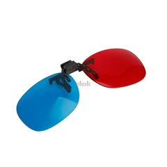 Glasses New Red Blue 3D Glasses Hanging Frame 3D Glasses Myopia Special Stereo Clip Type JUL12 dr