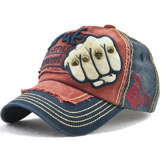 b457cf5ccb9 Cotton Snapback Baseball Cap Casual Hip Hop Fitted Hats for Men Cap ...