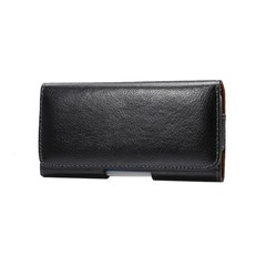 Genuine Leather Belt Clip Pouch Cover Case for Ark Elf S8/Benefit Note 1