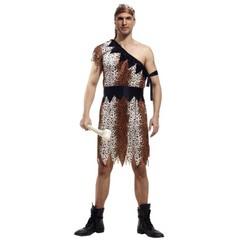 Leopard Savage Caveman Croods Flintstones Primitive Sexy Indian Clothing Costume Carnival Hallowe