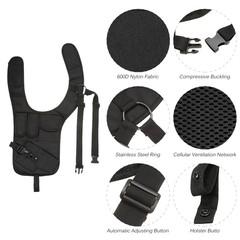 Shoulder Bags Armpit Bag Phone Pouch Burglarproof Anti-Theft Bag Security Holster Strap Messenger