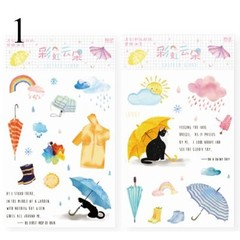 Planet Stickers Crystal Oil Painting Decorative Washi Paper Stickers Scrapbooking Diary Diy Album