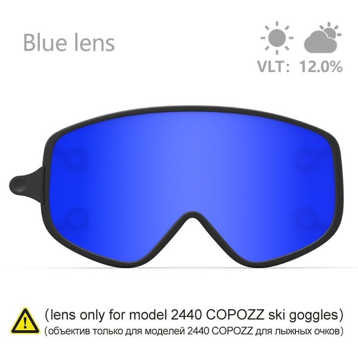 03a8167b72c6 Ski lens Magnetic Dual-use Outer Lens for 2440 Snowboard Goggles Night  Skiing Anti-