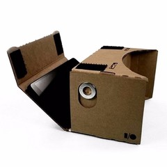 DIY 3d smart glasses cardboard  for computer/Samsung/xiaomi/huawei/smart phone,points of virtual