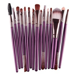 15Pcs Makeup Brushes Set Pro Foundation Powder Eye Shadow Eyeliner Eyelash Lip Make Up Brush Beau