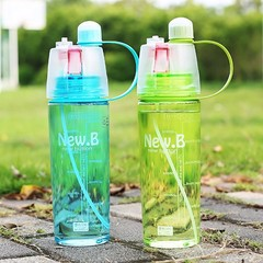 Water Bottle Sport Spray Bottle Moisturizing Cycling Sports Gym Drinking Bottles 600ML/400ML 6121
