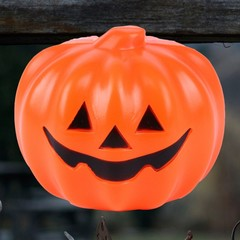pc Pumpkin Lamp Battery Halloween Light-emitting Scary Holiday Decor Table Lamp with Sound for Ba