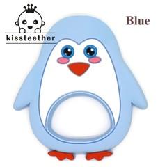 Silicone Cartoon Penguin Baby Teething Necklace Pendant Nursing MOM Nursing Materials DIY Pendant