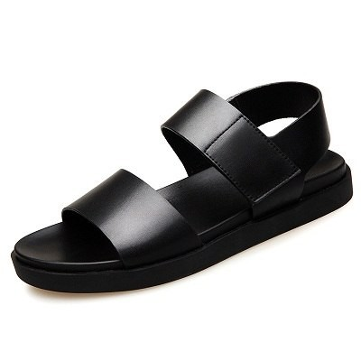 9e6647bf344c Breathable Leather Sandals Summer Beach Gladiator Sandals Male Outdoor Slip  On Soft Durable Shoes  Product No  10622328. Item specifics  Seller ...