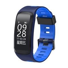 Smart Bracelet Altitude Temperature IP68 Waterproof Blood Pressure Smart Wristband Heart Rate Spo