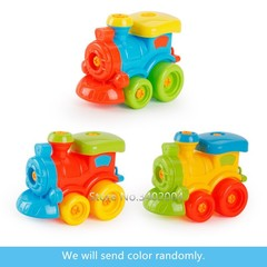 Early Learning Educational DIY Screw Nut Group Installed Disassembly Cartoon Animal Kids Building