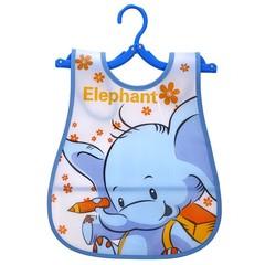 Girl stuff Bibs EVA Plastic Waterproof Lunch Feeding Bibs Baby Cartoon Cloth Baby Apron Babador b